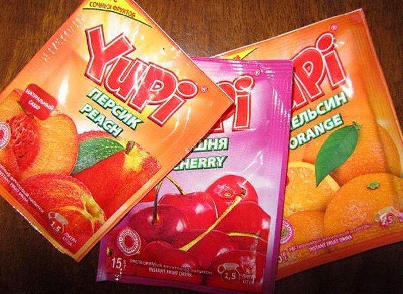 продукты из 90-х