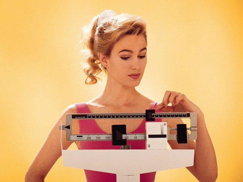 женщина на диете