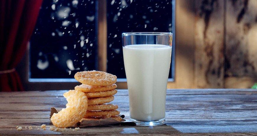 mleko z miodem na noc