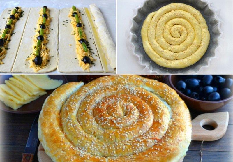 греческий пирог