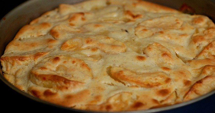 Скандинавский яблочный пирог