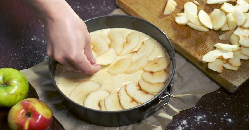 Яблочные пироги в духовке