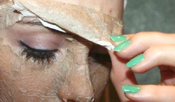 Яичная маска от черных точек с салфеткой 112