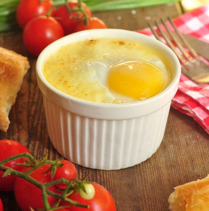 niezwykłe smażone jajka