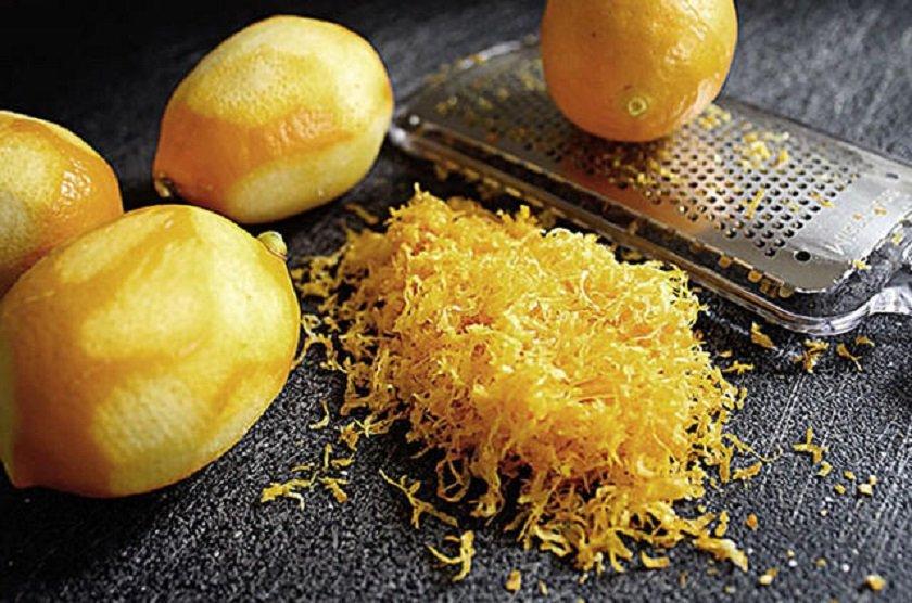 как заморозить лимонную цедру