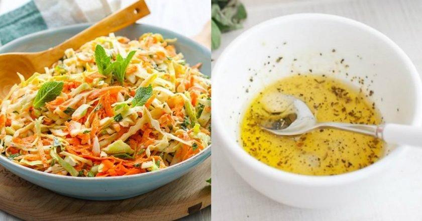 Соус к салату из пекинской капусты
