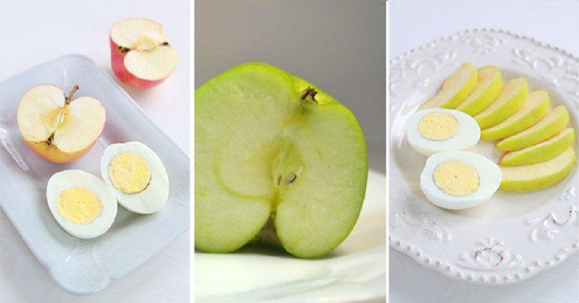 низкокалорийный завтрак