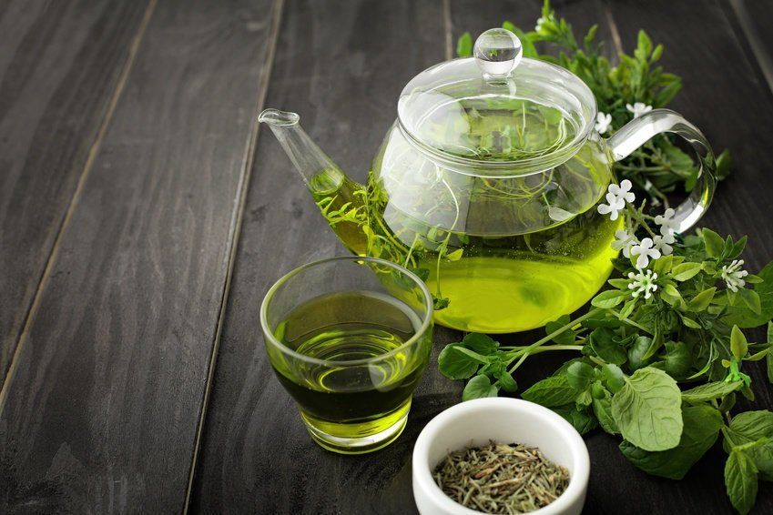 Зеленый чай против алкоголизма