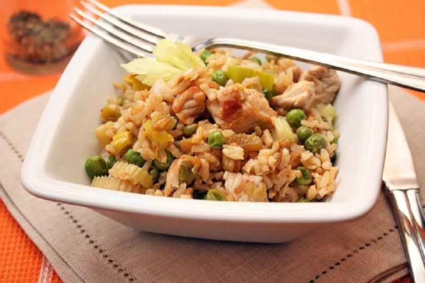 коричневый рис во время диеты
