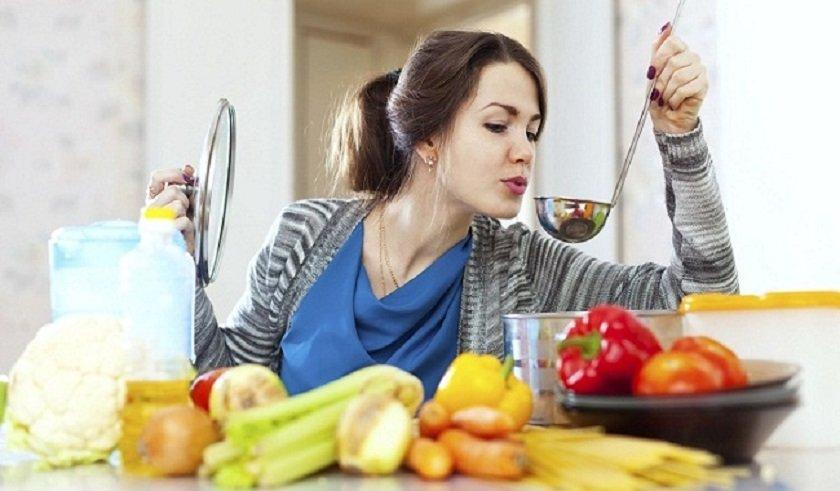 жиросжигающий суп и фрукты