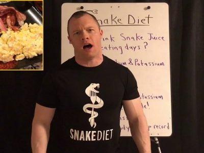 «Змеиная» диета