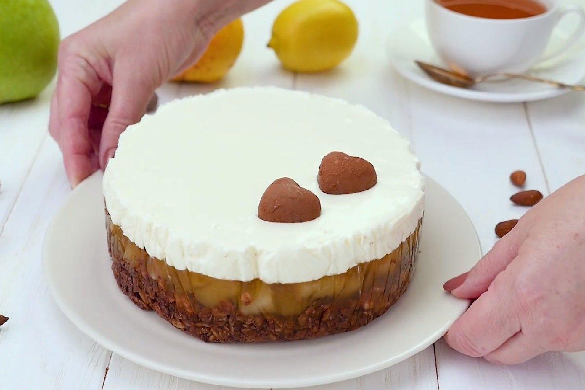 рецепт грушевого торта