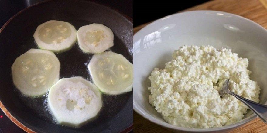 закуска с кабачками