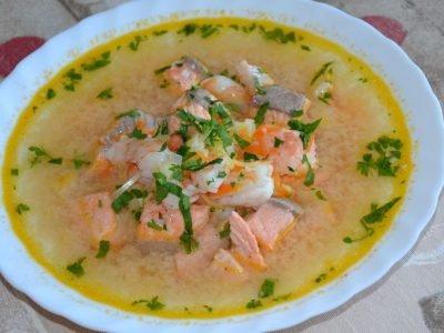 Азербайджанский суп балык-бозбаш