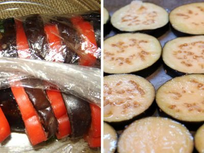 Баклажаны с помидорами на зиму