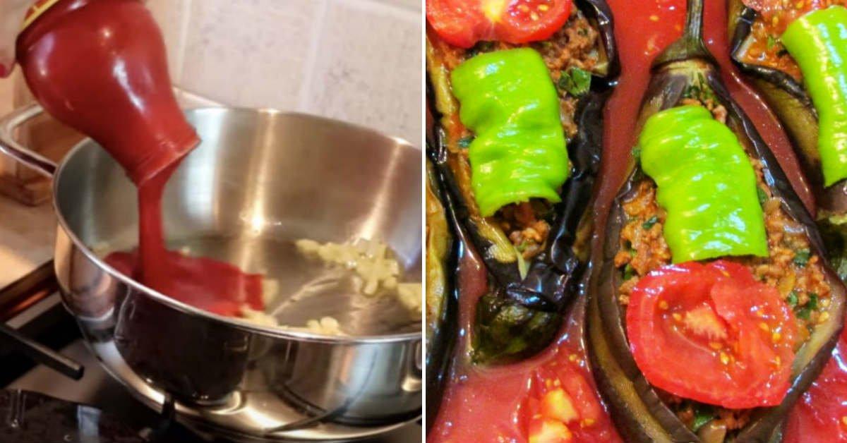 как приготовить баклажаны с тунцом