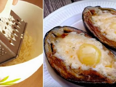 Баклажаны с яйцом