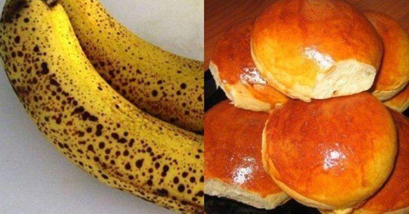 Банановые булочки