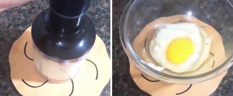 бананы с яйцом
