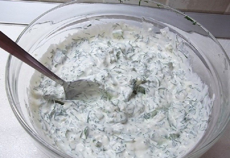 Белый соус для шашлыка