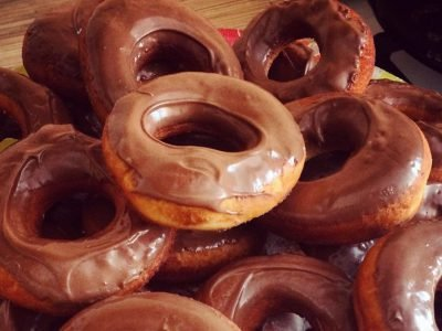 Бездрожжевые пончики