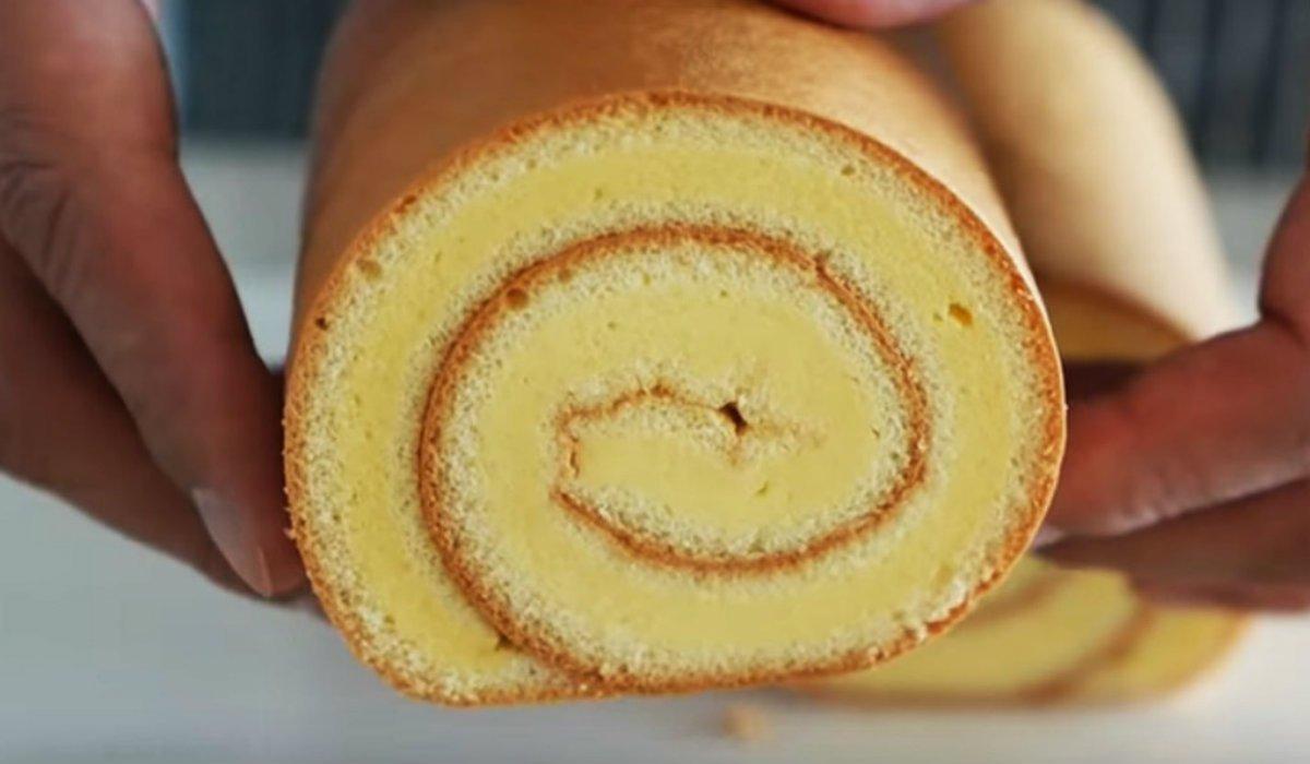 Бісквіт на жовтках: рецепт рулету з варенням