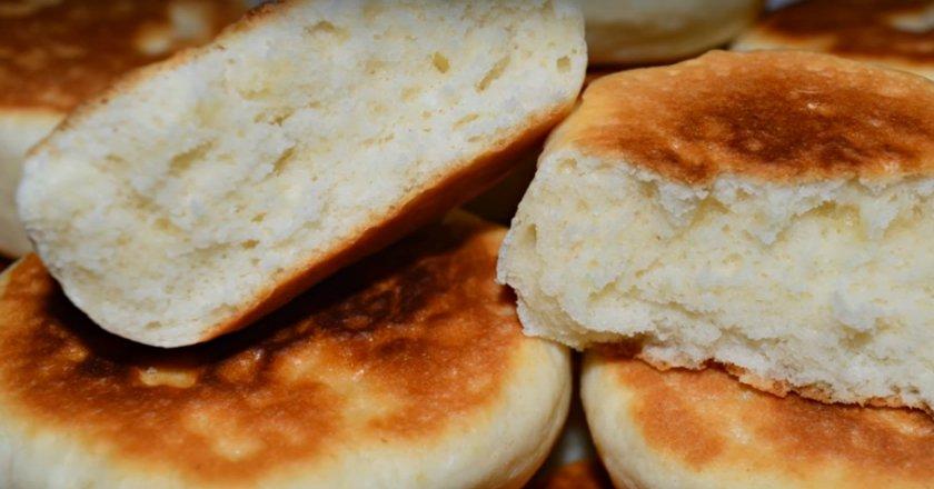 Бисквиты на сковороде