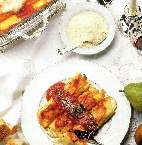 блинчики с сыром по-итальянски