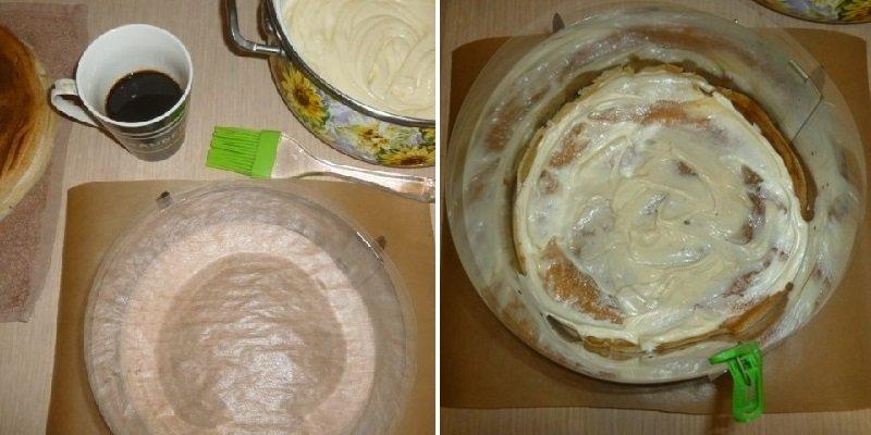 блины для торта