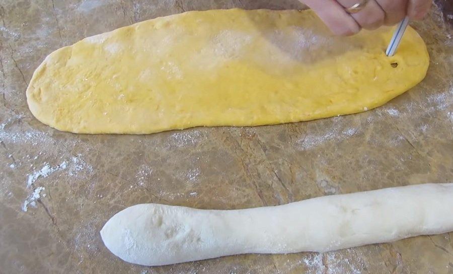 тесто на булочки