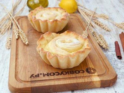 Булочки с лимонной начинкой