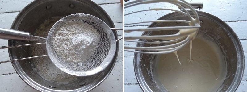 яичное тесто