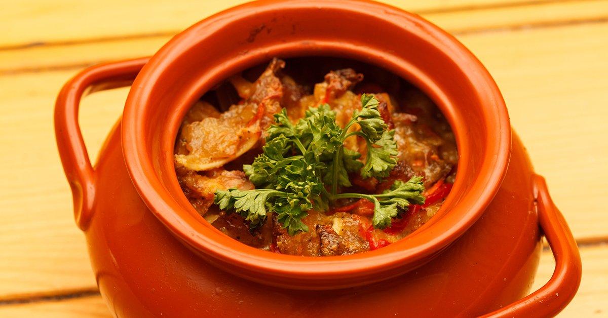 Чанахи в горшочке — самое ленивое блюдо грузинской кухни!