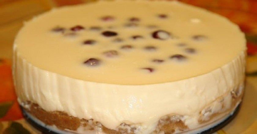 Чизкейк с печенья рецепт в домашних условиях с фото