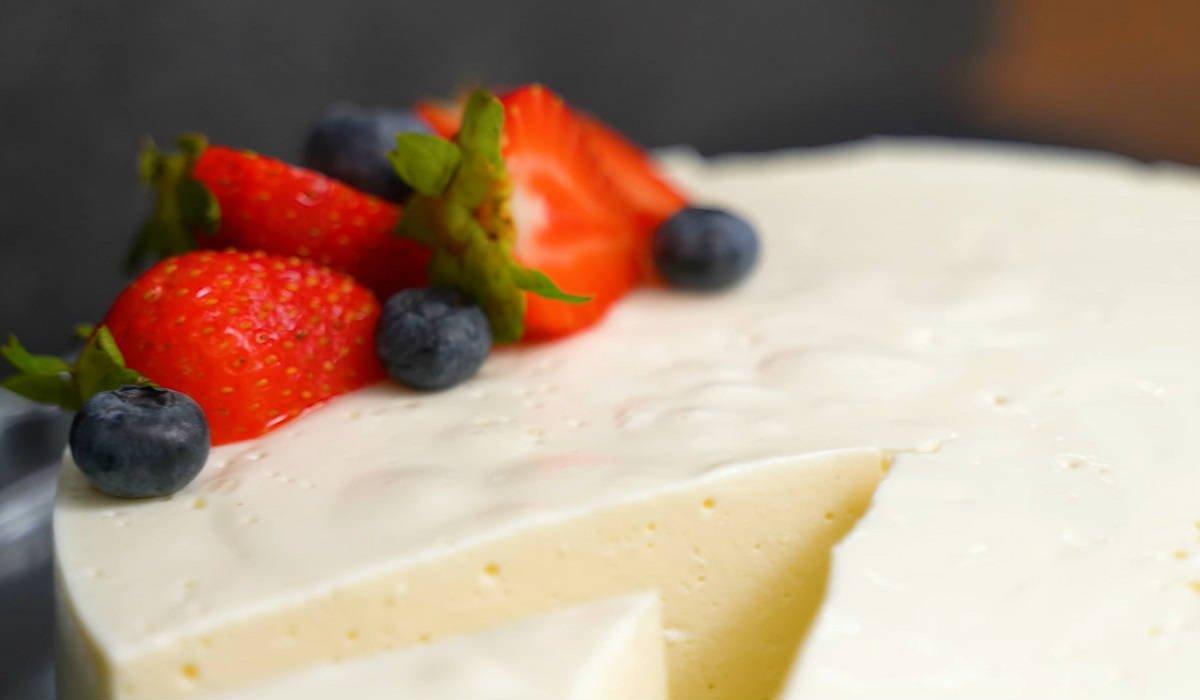десерт без сахара