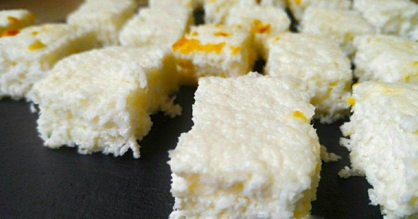 Десерт з кокосової стружки і кефіру подивитися рецепт