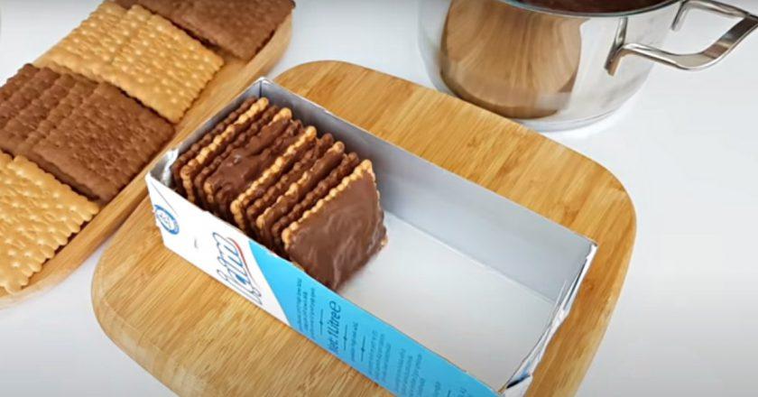 Простий десерт з печива без випічки - Це Смак