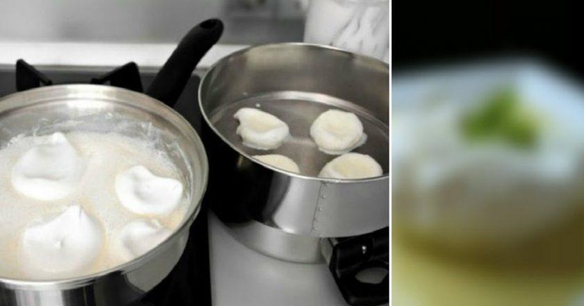 Десерт из яиц