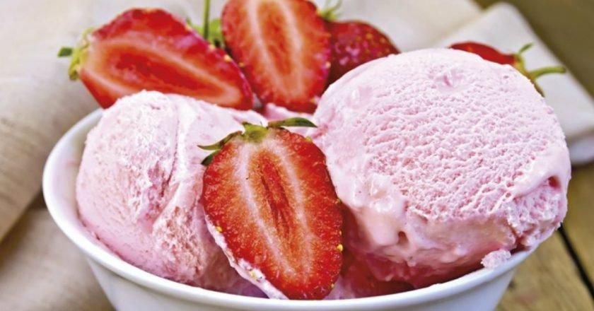 Домашнє полуничне морозиво | Цє Смак подивитися рецепт