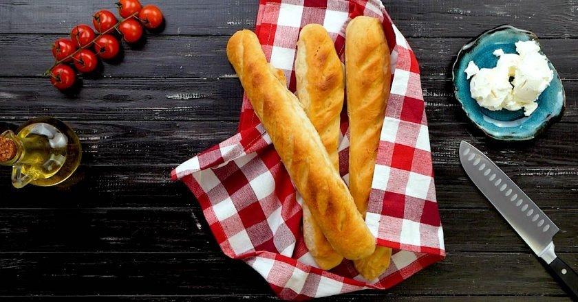 Домашній французький багет подивитися рецепт