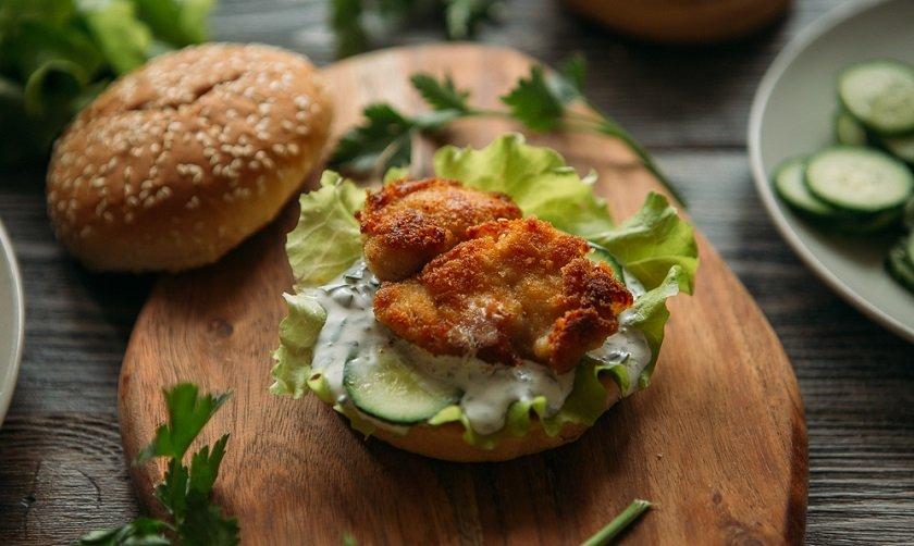 как готовить домашний гамбургер