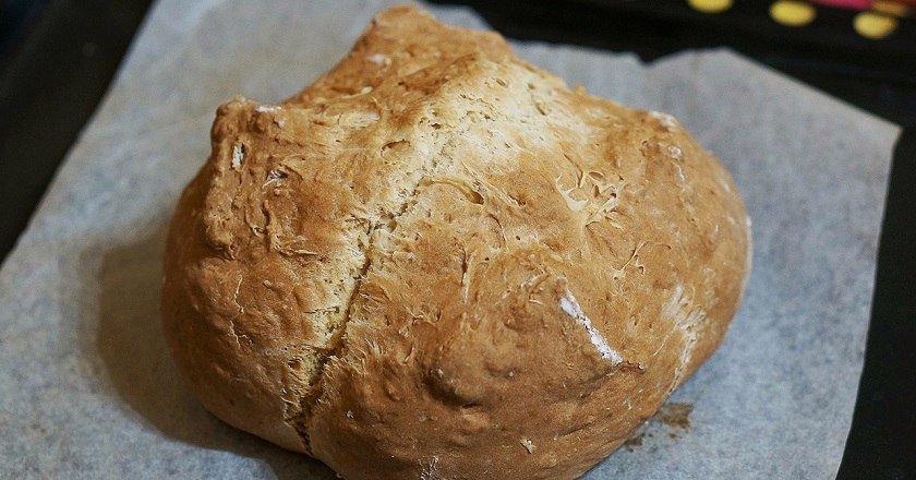 Домашний хлеб без закваски