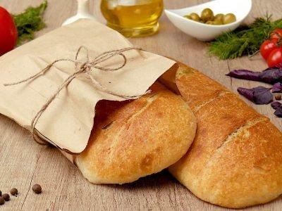 Домашний хлеб с зеленью