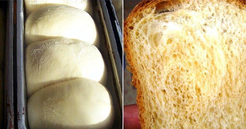 Домашний тостовый хлеб