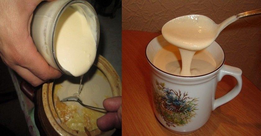 Как из домашнего молока сделать ряженку