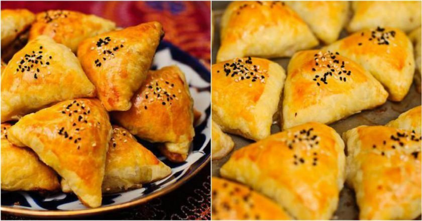Узбекская самса рецепт приготовления в домашних условиях из слоеного теста тыква в меде в духовке рецепты приготовления кусочками