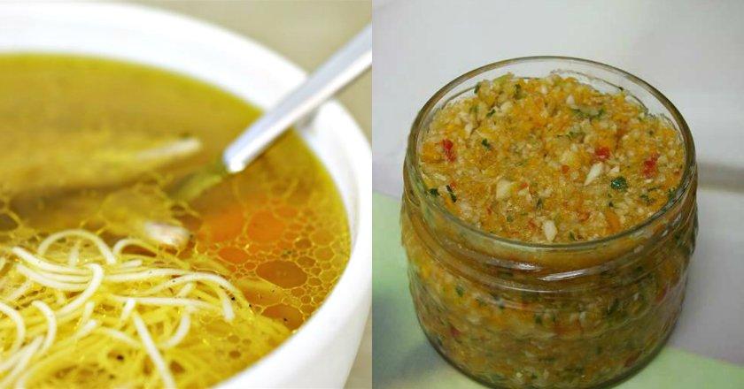 Домашняя заготовка для супа