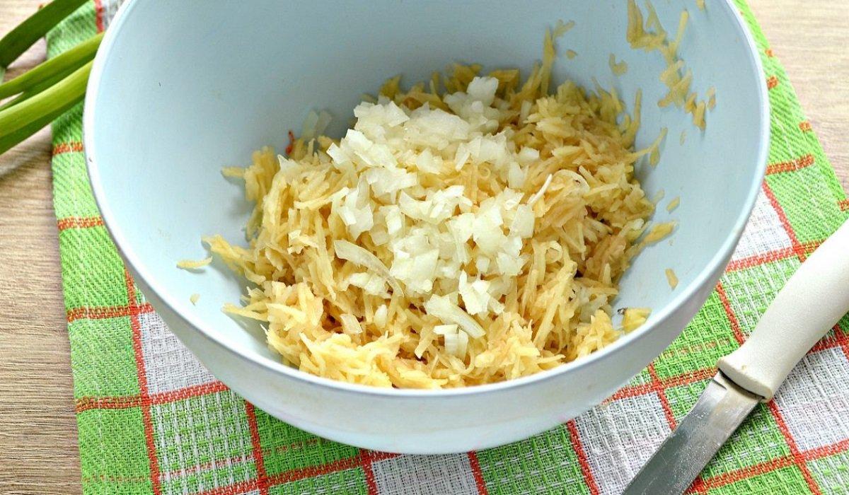 рецепт драников с сыром и зеленью
