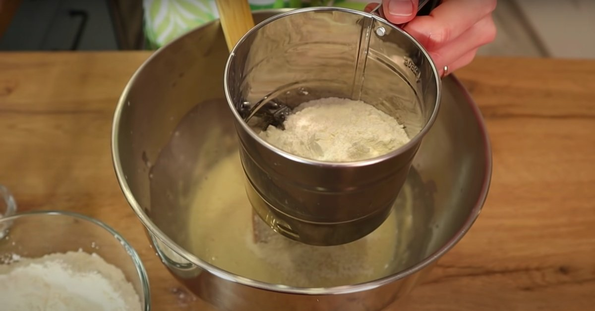 дрожжевое тесто на воде