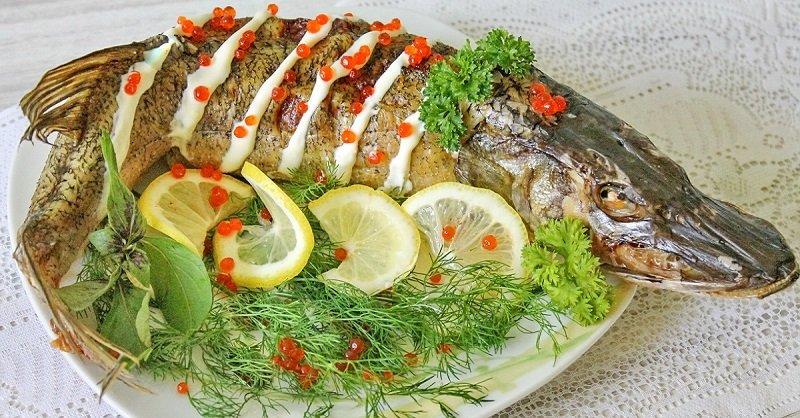 рыба фаршированная по-одесски